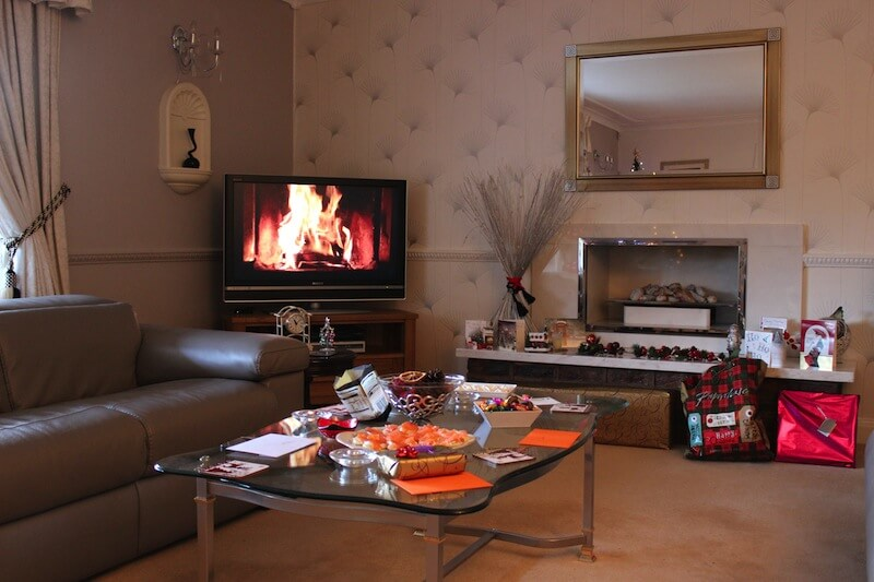 Fireplace Video At Xmas