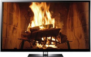 virtual fireplace video