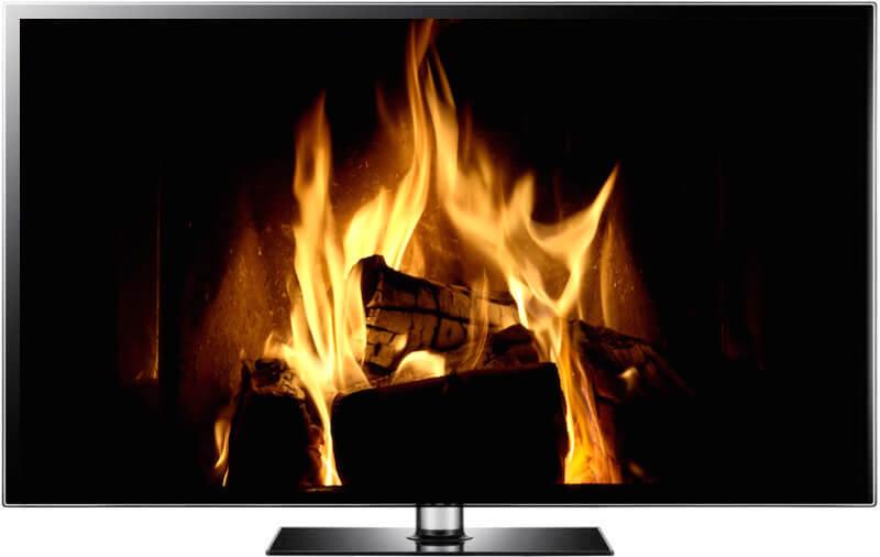 The Best Christmas Fireplace Video + Fireplace Screensaver 4K Ultra HD