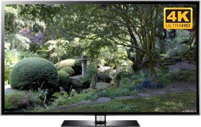 garden tv screensaver UHD