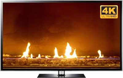 UHD fireplace