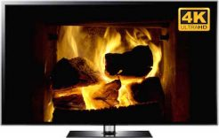 4K Fireplace Screensaver