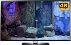 relaxing aquarium screensaver in 4K The Secret Doors