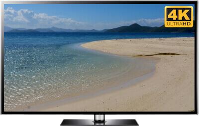beach screenaver TV